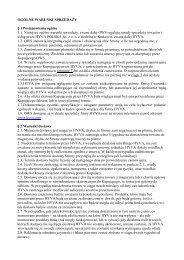 OGÓLNE WARUNKI SPRZEDAśY § 1 Postanowienia ogólne ... - Hyva