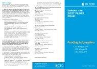 Funding Information - CTC Aviation