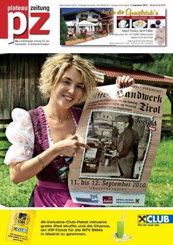 Plateau-Zeitung - PZ Seefeld