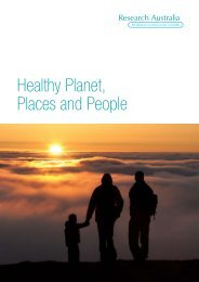 Healthy Planet, Places and People - Healthy Spaces & Places