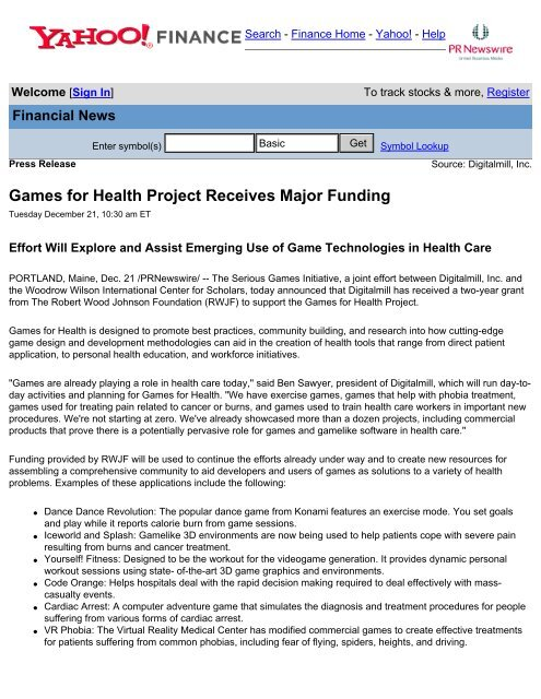 has modified commercial games - The Virtual Reality Medical