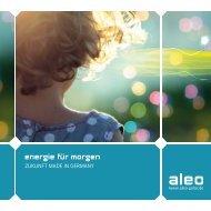 Image Broschüre - Aleo Solar