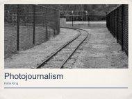 Photojournalism - Henderson County Public Schools