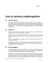 Allmänna anställningsvillkor och löner (§ 11) bil 1 - Skolledarna