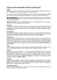 Ciągnik CASE IH MAXXUM 130 MULTICONTROLLER - Tech-Kom