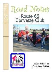 Road Notes Oct 2010.pdf - Route 66 Corvette Club