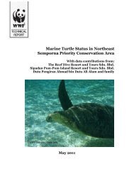 Marine Turtle status Report - Indian Ocean - South-East Asian ...