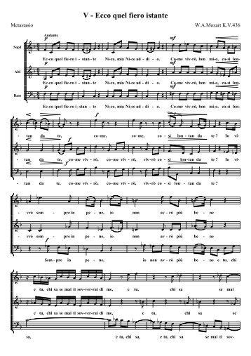 Mozart nocturne 5 KV436 - Choeur Saint Christophe