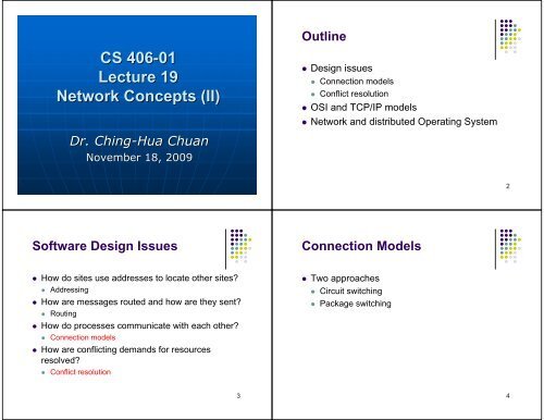 Cs 406 01 Lecture 19 Network Concepts Ii