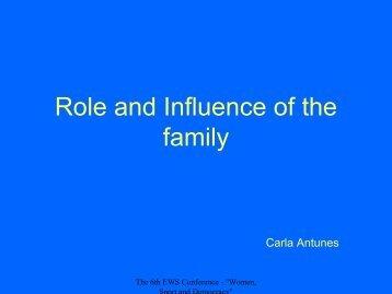 Carla ANTUNIS - EWS European Women and Sport