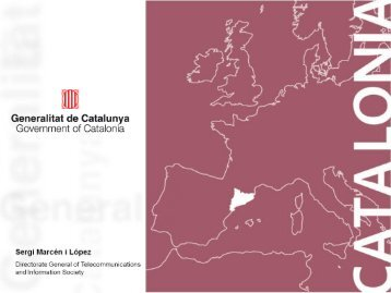 Catalan Mobility Strategy - ERRIN Network