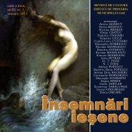 seria a treia, an III, nr. 1, ianuarie 2011 - Insemnari Iesene