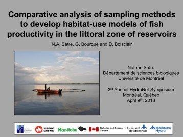 Mean sampling area- 500 m2 - HydroNet - Université de Montréal