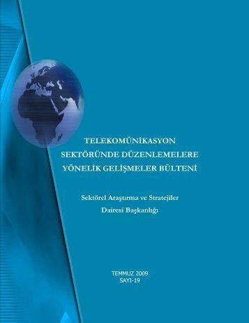 Temmuz - Telekomünikasyon Kurumu