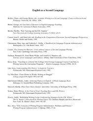 English as a Second Language (PDF)