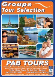 3 Days From €289 - PAB Coach Tours