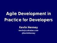 Agile Development in Practice for Developers - SWEN