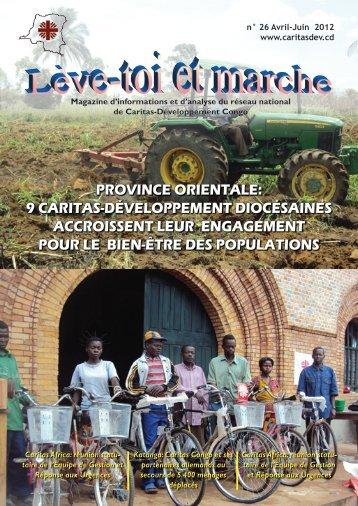 9 caritas-développement diocésaines accroissent ... - caritasdev.cd
