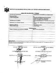 Procedimiento: Informe de Actividades - Issfam