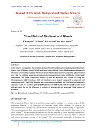 Cloud Point of Biodiesel and Blends - Journal of Chemical ...