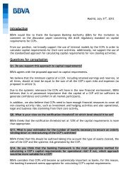 BBVA - European Banking Authority