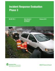 Full Report - the Washington State Department of Transportation