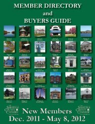 MEMBER DIRECTORY and BUYERS GUIDE - Saratoga County ...