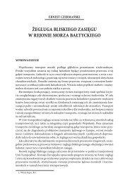 Żegluga bliskiego zasięgu w rejonie Morza ... - PortalMorski.pl