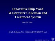 Innovative Ship Yard Wastewater Collection and Treatment ... - NSRP