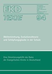EKD-Text 94 - Evangelische Kirche in Deutschland