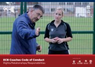 Code of Conduct - Ecb