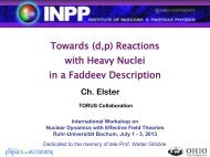 Towards (d,p) Reactions with Heavy Nuclei in a Faddeev Description