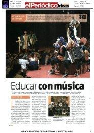 Revista de Prensa - L'Auditori