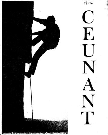 March 1974 - Ceunant Mountaineering Club