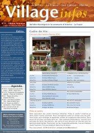 bulletin municipal n° 11 - Automne 2010 - Commune d'Arâches-La ...