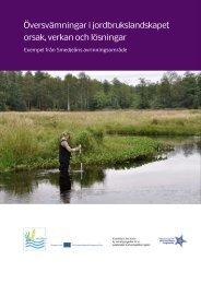 Översvämningar i jordbrukslandskapet orsak ... - Region Halland