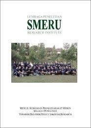 Laporan Tahunan 2007 - SMERU Research Institute