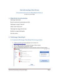 SketchUp : logiciel d'imagerie 3D - Club informatique Mont-Bruno