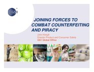 John Keogh - Global Congress Combatting Counterfeiting & Piracy