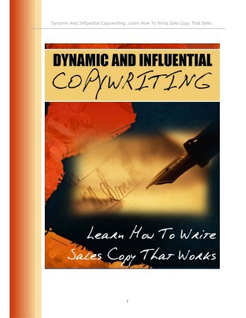 Dynamic Copywriting