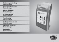 Bedienungsanleitung Turbo-Charger Operating Instruction Turbo ...