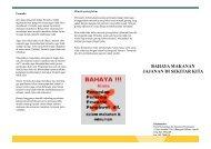 Bahaya Jajanan - Kalyanamitra