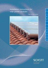 SCHOTT Install A5 0407_DR - Solarwatt