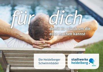 damit du urlaub um die ecke machen kannst - Heidelberger ...