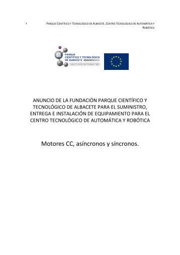 Motores sincronos asincronos CC - Parque Científico y Tecnológico ...