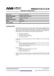 WM8940-6162-FL24-M - Wolfson Microelectronics plc