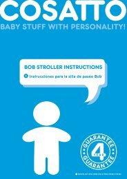 Bob Stroller MC A5.indd - Glasgow Pram Centre