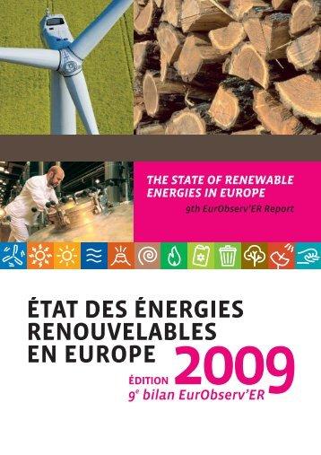 édition 2009 - Energies Renouvelables