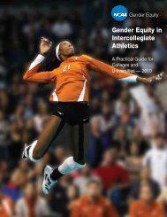 Gender Equity Guide 2010 - Johnson C. Smith University Athletics