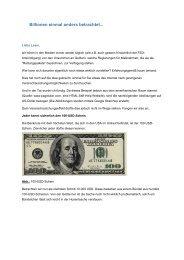 Billionen einmal anders betrachtet